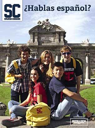 Portada catálogo Spanish Courses