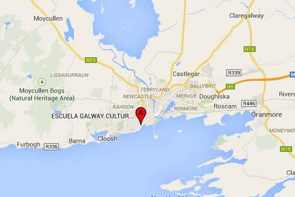 Mapa Galway