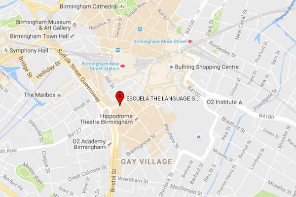 map birmingham