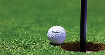 Inglés jugando al golf